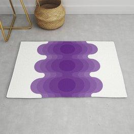 Violet Echoes Rug