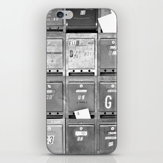 Mailboxes II iPhone & iPod Skin