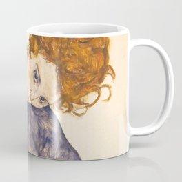 "Egon Schiele ""Seated Woman with Legs Drawn Up"" Coffee Mug"