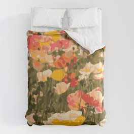 Poppies in the Sun Comforters