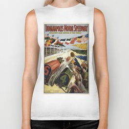 Vintage poster - Indianapolis Motor Speedway Biker Tank