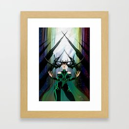 Absolute Power Framed Art Print