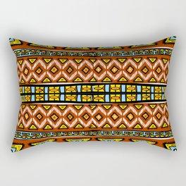 African Palette Rectangular Pillow