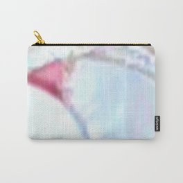 JAGGED CURVE & PINK TRIANGLE (upper right view) Carry-All Pouch
