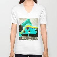 bauhaus V-neck T-shirts featuring BauHaus 2 by Marko Köppe