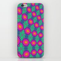 tie dye iPhone & iPod Skins featuring Tie Dye by Cherie DeBevoise