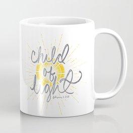 """EPHESIANS 5:8-10 """"CHILD OF LIGHT"""" Coffee Mug"""