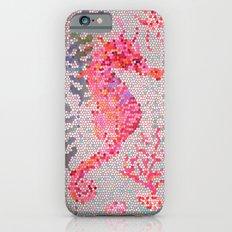Mosaic Seahorse iPhone 6s Slim Case