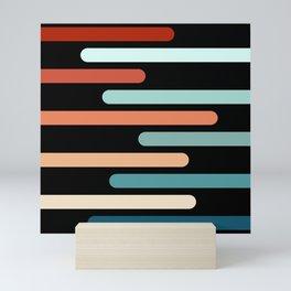Colorful sticks Mini Art Print
