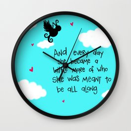 Meant to Be. Wall Clock