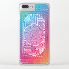 Tribal - Angles Clear iPhone Case