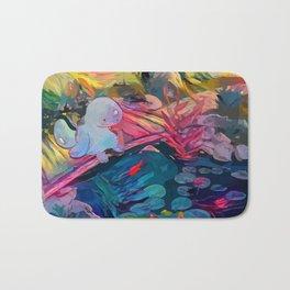 lonely Pocket monster Bath Mat