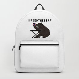 Feed The Bear Backpack