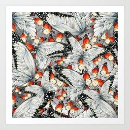 Butterflies #1 Art Print
