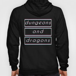 Dungeons & Dragons - 'dungeons and dragons' Retro Hoody