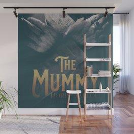 The Mummy, Boris Karloff, 1932 cult horror movie poster, vintage affiche Wall Mural