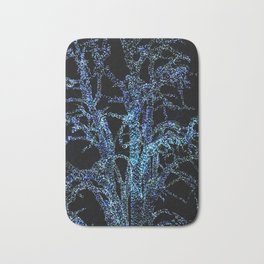 lights tree at christmas Bath Mat