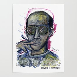 Hunter S. Thompson Poster
