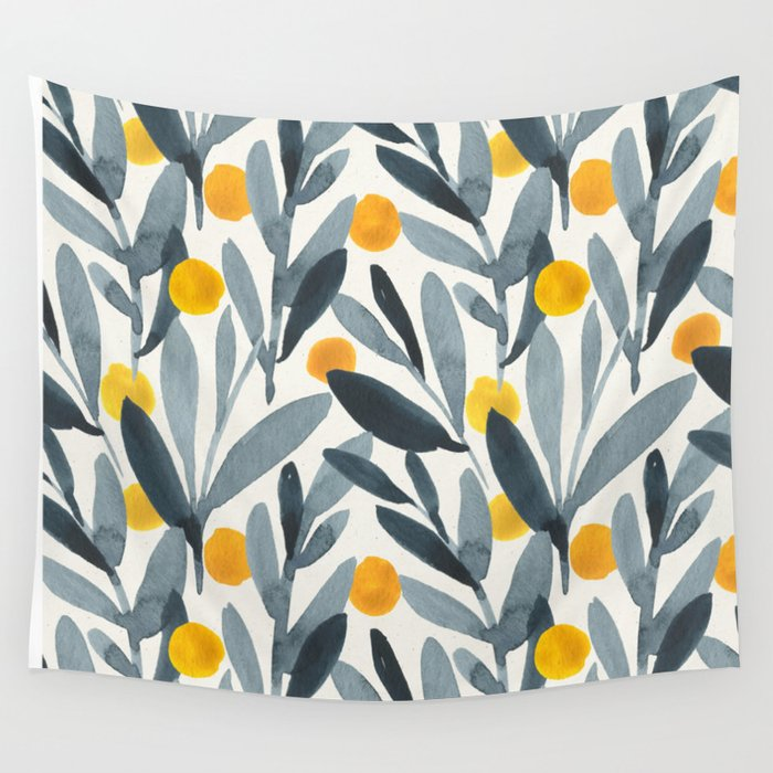 Sun dried tomatoes Wall Tapestry