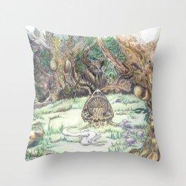 RHX Forest Logo Throw Pillow