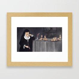 Juana de Asbaje Framed Art Print
