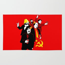 The Communist Party (variant) Rug