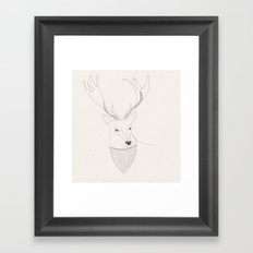 Well hello there dear  Framed Art Print