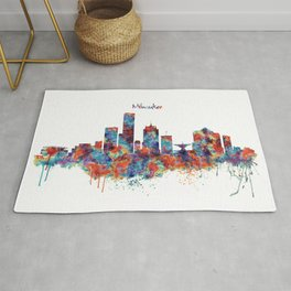 Milwaukee Skyline Rug