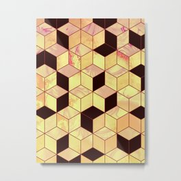 Geometrical Force #1 Metal Print