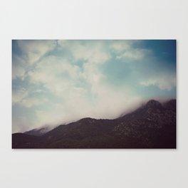 misty Canvas Print