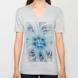 Another Floral Beauty Unisex V-Neck