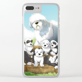 oes puppies Clear iPhone Case