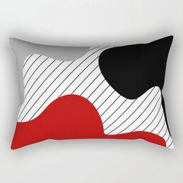 Colorful abstract design 2 Rectangular Pillow