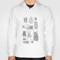 bugs Hoodies featuring Bugs by Jillian Leigh