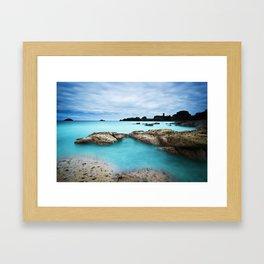 Dunbar Bay Framed Art Print