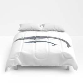 Fin whale Comforters
