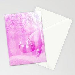 Ghostly Rhino Stationery Cards