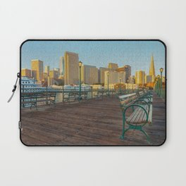 Pier 7- painting Laptop Sleeve