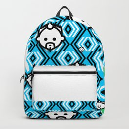Logo HD blue by JC LOGAN 4 Simply Blessed Backpack