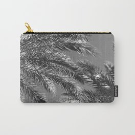 Exotic Noir Tropical Palm Trees Upshot Carry-All Pouch