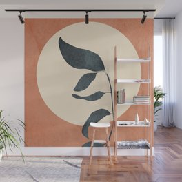 Summer Leaves Wall Mural
