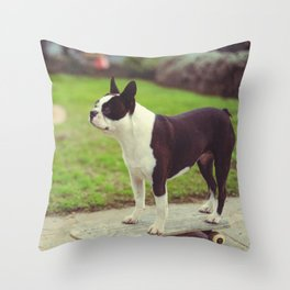 Aud on Board Throw Pillow