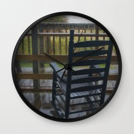RAINY DAY MEMORIES Wall Clock