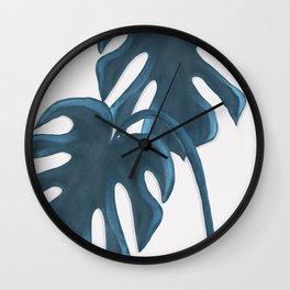 Moderna Monstera V.4 Wall Clock