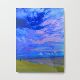 Horizon at Icacos Metal Print
