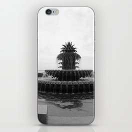 Pineapple Fountain Charleston River Park iPhone Skin
