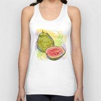 vietnam Tank Tops featuring Vietnam Guava by Vietnam T-shirt Project