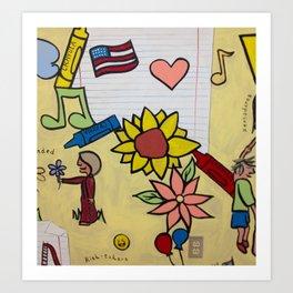All Children are Artists Art Print