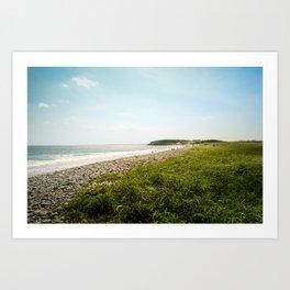 plage Art Print