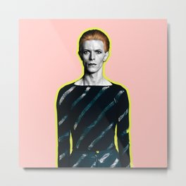 pinky bowie zx Metal Print